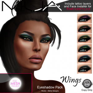 {MUA} - Eyeshadow Pack -Wing