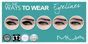 {MUA} Eyeliner - All the Ways - Pack 1