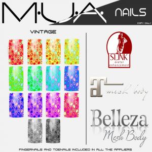 {MUA} Nails -Vintage